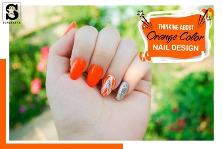 Exploring Orange color nail designs