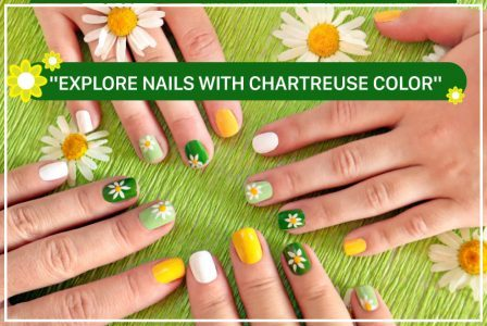 All about nails with Chartreuse color- Green mix yellow
