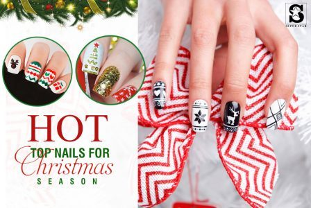 Top nails for Christmas season in this year