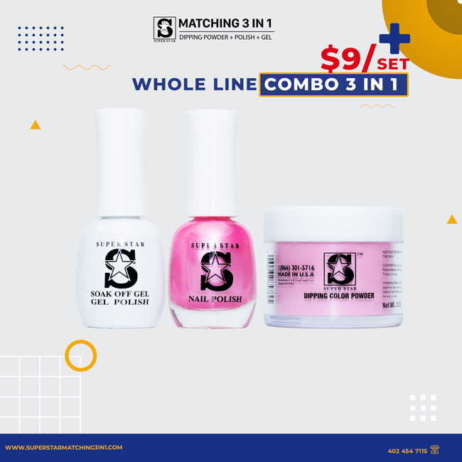 whole line combo 3 in 1
