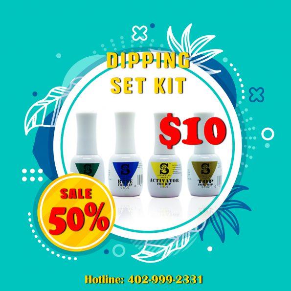 sales 50% dipping set kit